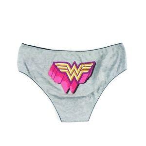 Torrid Wonder Woman Hipster Panty NWOT 2X Gray WW